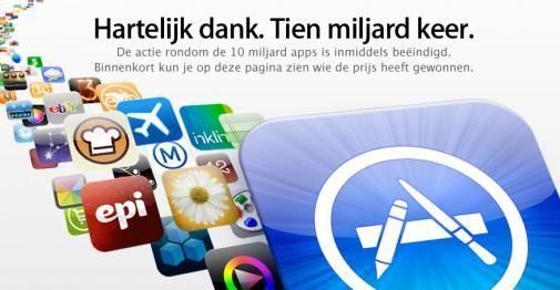 App store bereikt 10 miljard downloads