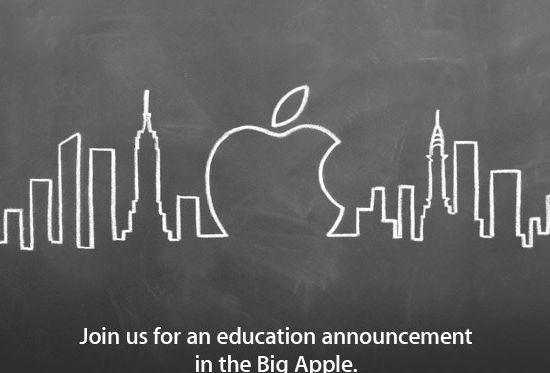 Apple event met een 'education announcement' op 19 januari