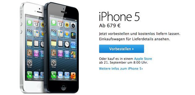 Apple iPhone 5 circus draait op volle toeren, Pre-orders zijn gestart