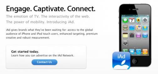 Apple kondigt eerste merken in Europa aan die iAds gebruiken