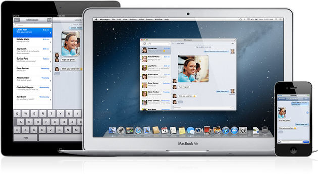 Apple released iMessage voor de Mac in aanloop naar nieuw OS X Mountain Lion