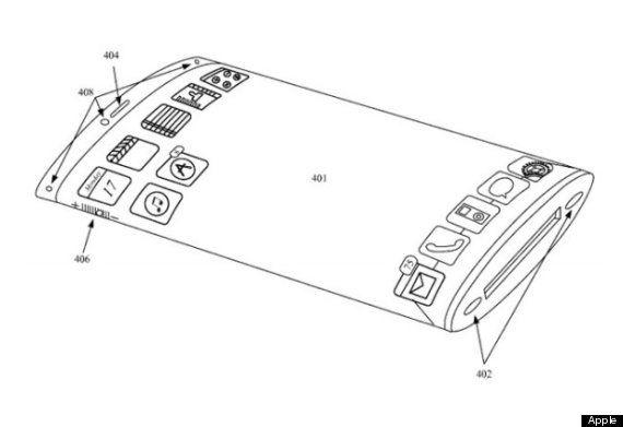 Apple vraagt patent aan op rondvormige iPhone