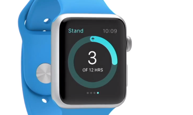 apple watch - stand