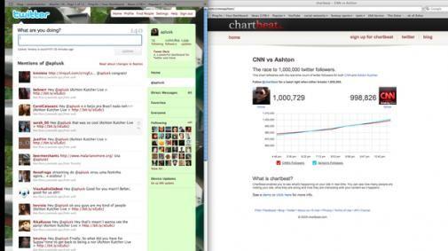Ashton Kutcher vs CNN