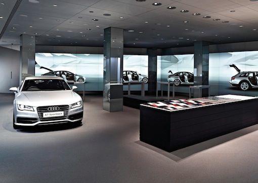 Audi City: showroomconcept als 'cyberstore' voor metropolen