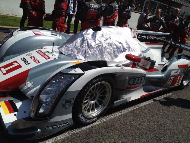 Audi e-tron 1-2-3 tijdens de WEC op Spa-Francorchamps