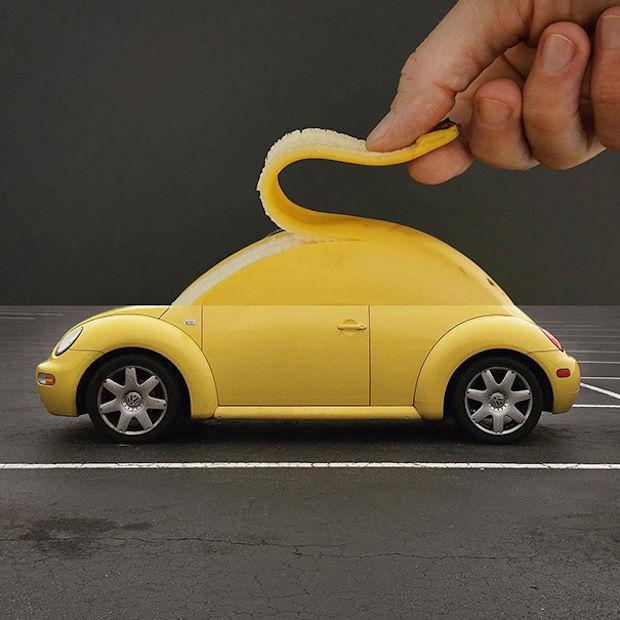 banaan+auto