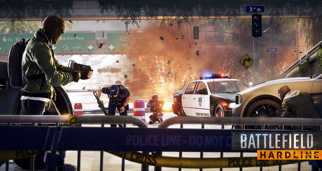Battlefield Hardline beta preview: EA's Cashflow