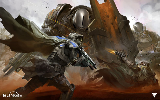 Destiny's artwork is spectaculair, net zoals de hele adt direction.