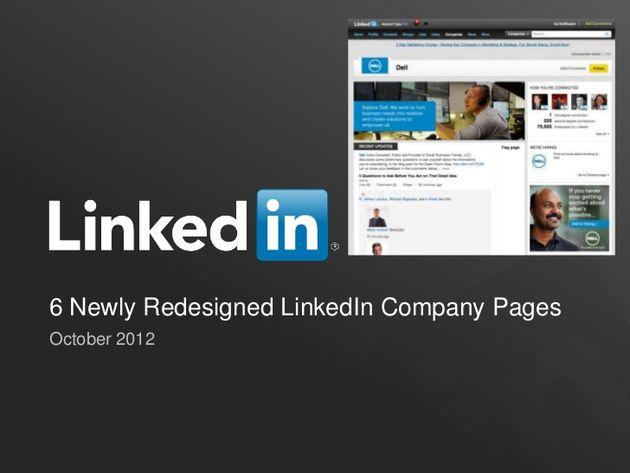 Bedrijfspagina's LinkedIn in een nieuw jasje