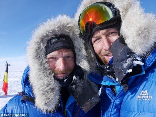 Beleef de poolexpeditie van Ben Saunders