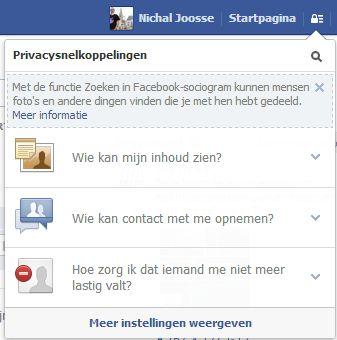 Bescherm je Facebook-account tegen ongewenste zoekacties Graph Search