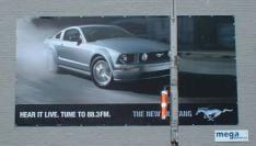 Billboard met geluid