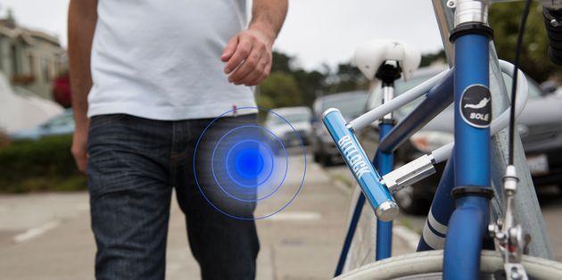 BitLock: smartphone als fietssleutel