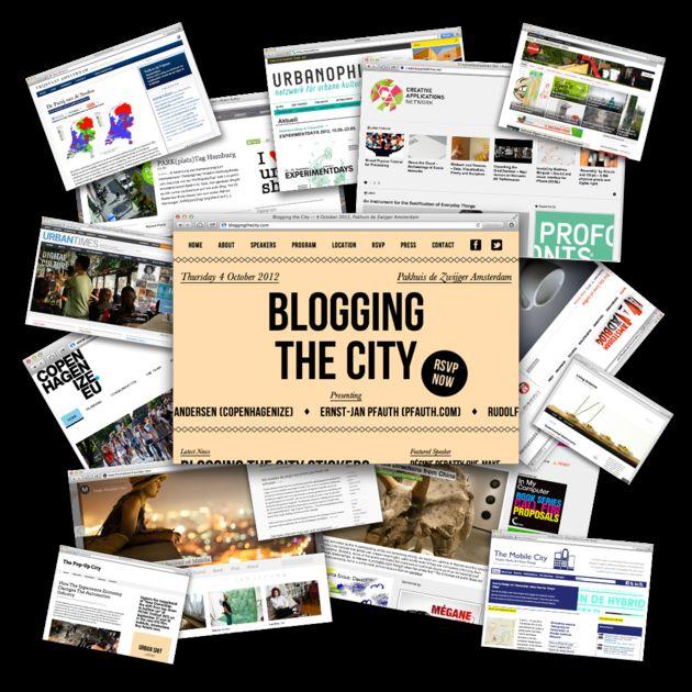 Blogging the City
