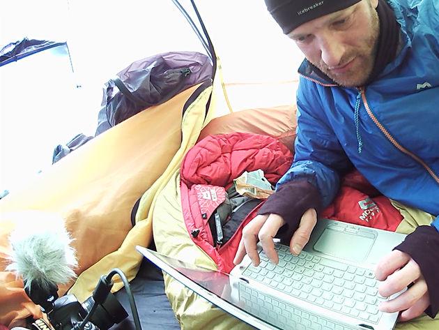 Britse avonturier treedt in de voetsporen van kapitein Robert Scott met poolexpeditie op Antarctica