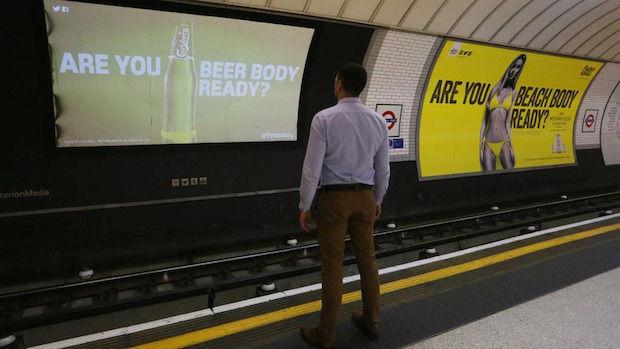 Carlsberg beer body ready