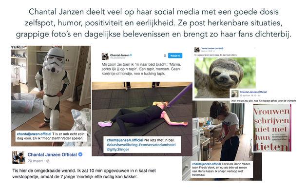 Chantal janzen beste social media awards