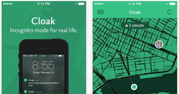 Cloak de app waarmee je je vrienden NIET ontmoet