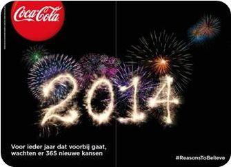 Coca-Cola: Nederlandse jongeren optimistischer over 2014