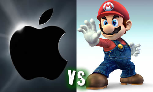 column: iPad 2 vs Nintendo 3DS