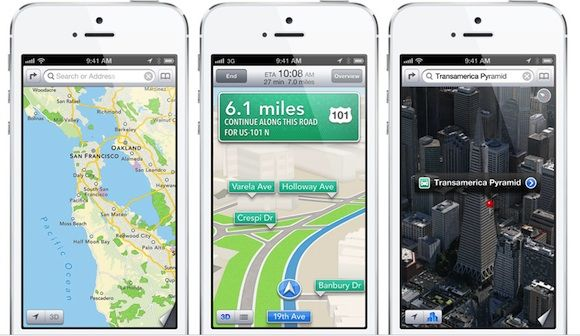 Contract tussen Apple en Google over Maps liep nog een jaar door