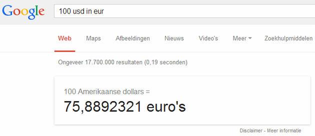 converteren valuta 4