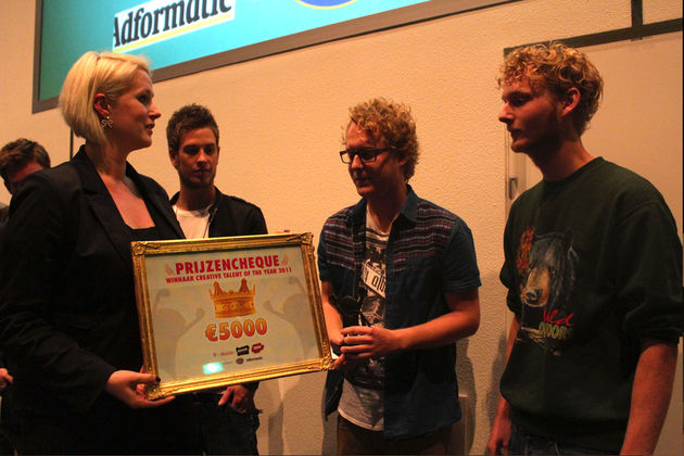 Creative Talent of the Year gevonden!