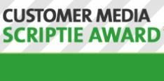 Customer Media Scriptie Award