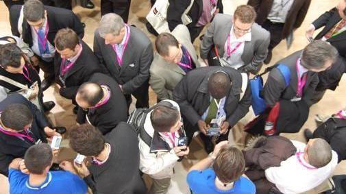Dag 1 op het Mobile World Congres