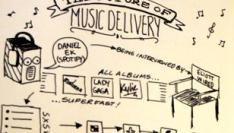 Daniel Ek van muziekdienst Spotify over de toekomst van ons muziekgebruik