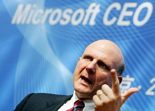 De afbrokkelende wereldheerschappij van Microsoft