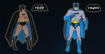 De evolutie van een Superheld: Batman [Infographic]