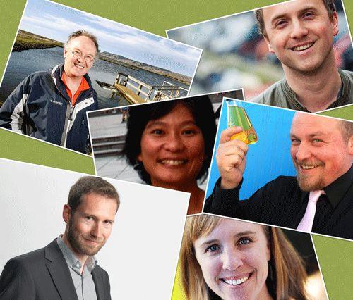 De finalisten van de Postcode Lottery Green Challenge 2012