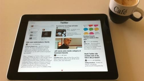 De iPad zet kranten verder onder druk...