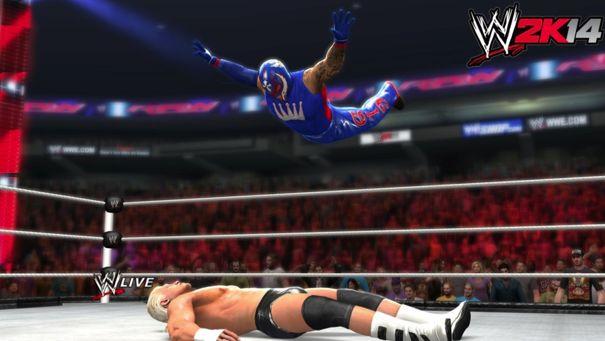 De nieuwe worstelgame WWE2K14 kan je niet serieus nemen