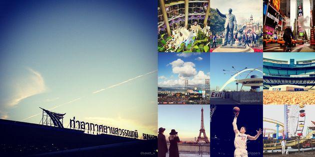 De populairste Instagram locaties van 2012