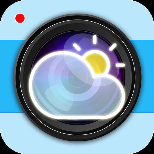 De WeerApp, goede Nederlandse variant op Instaweather, voor het maken van jouw weer foto's