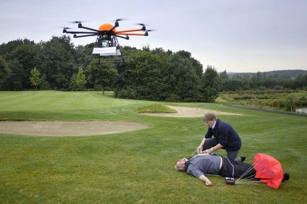 Defikopter: drone om levens te helpen redden