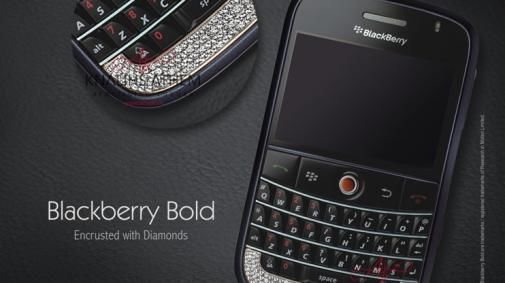 Diamante Blackberry Bold en N8800