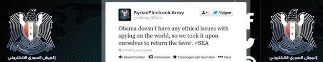 Diverse accounts van Barack Obama gehacked