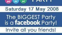 'DJ boeken', wordt 'Facebooken'  voor je feestje.