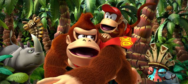 Donkey Kong Country Returns to kick ass