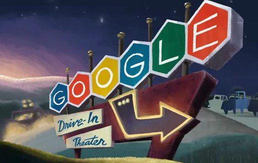 Doodle 79ste verjaardag Drive-In Bioscoop