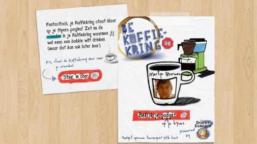 Douwe Egberts Koffiekring op Hyves