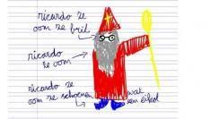 Drijgbrief voor de Sint(Ricardo ze vader)