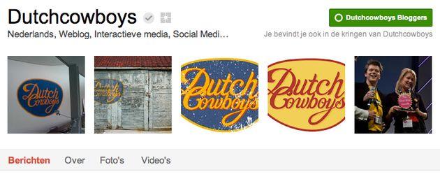 Dutchcowboys Verified Google+ Page