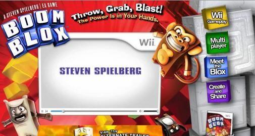 EA en Steven Spielberg lanceren Boom Blox