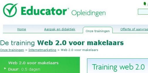 Educator + Jaap.nl  = Makelaars 2.0
