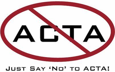 Een beslissende stem tegen ACTA